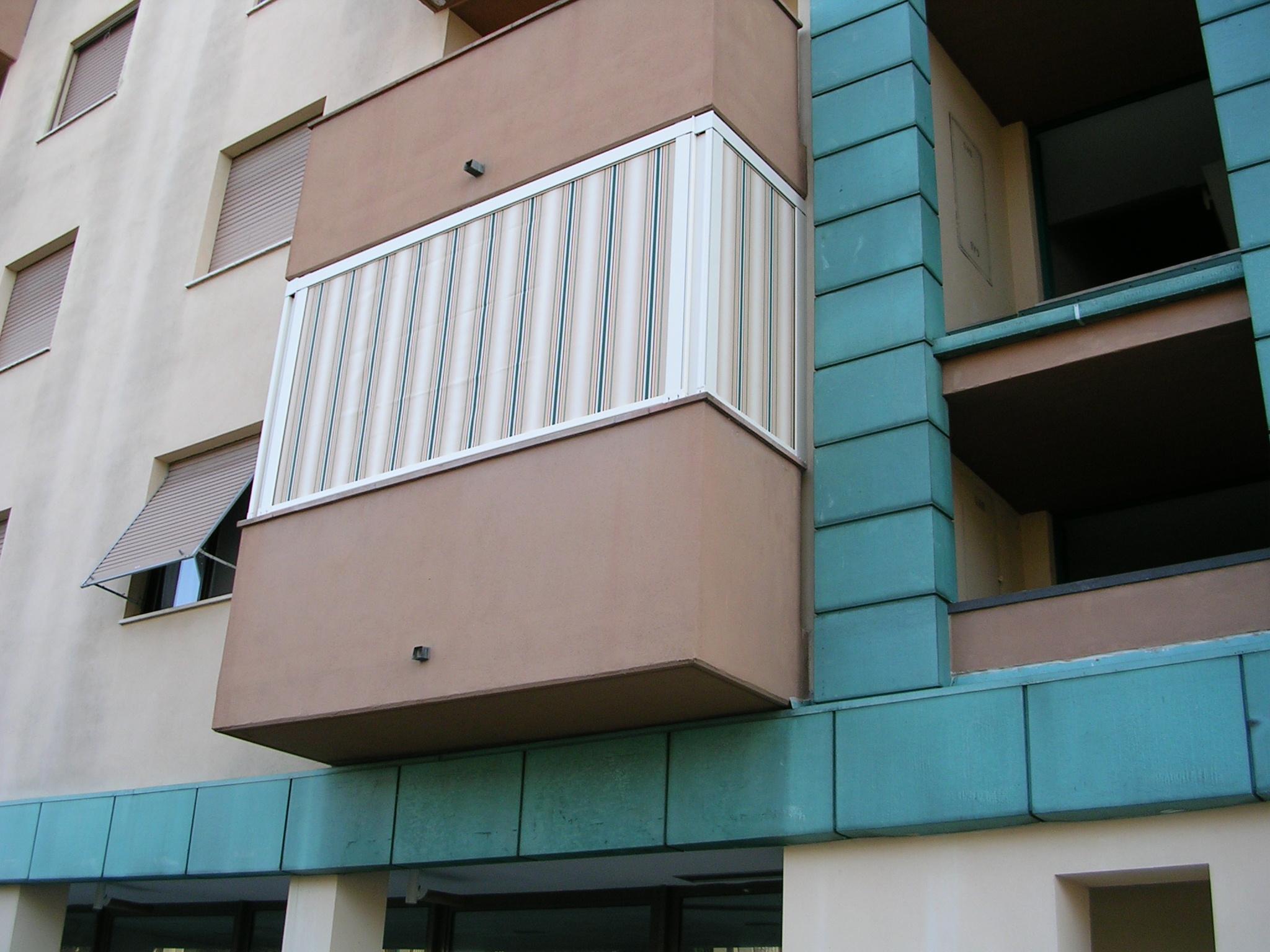 Tenda mod. veranda in tessuto